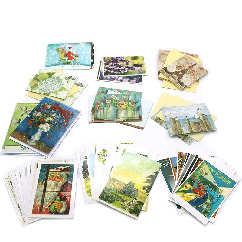Открытки, набор открыток на заказ
