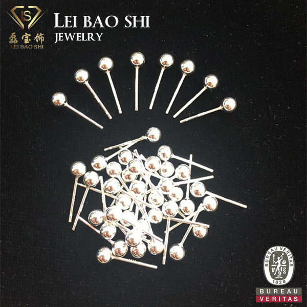 Wholesale Jewelry Findings 925 Silver Ball Head Pins