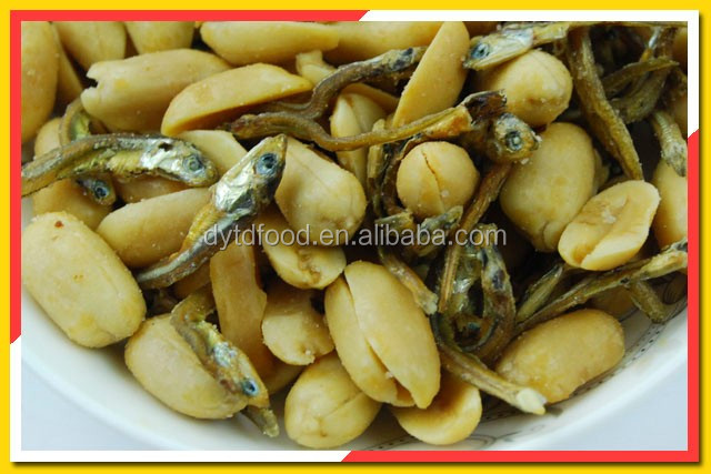 Factory Direct Cheap Spicy Peanuts Mixed With Dried Clovefish