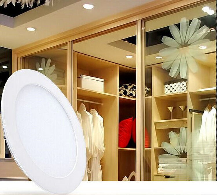 Cetl 4 Inch 9w Round Led Panel Light With Junction Box Driver ...
