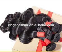 cheap body wave malaysian human hair weave extensions natural color #1B