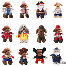 Top Pet Products Suppliers Christmas Pet Dog Costumes Holiday Funny Dog Clothes