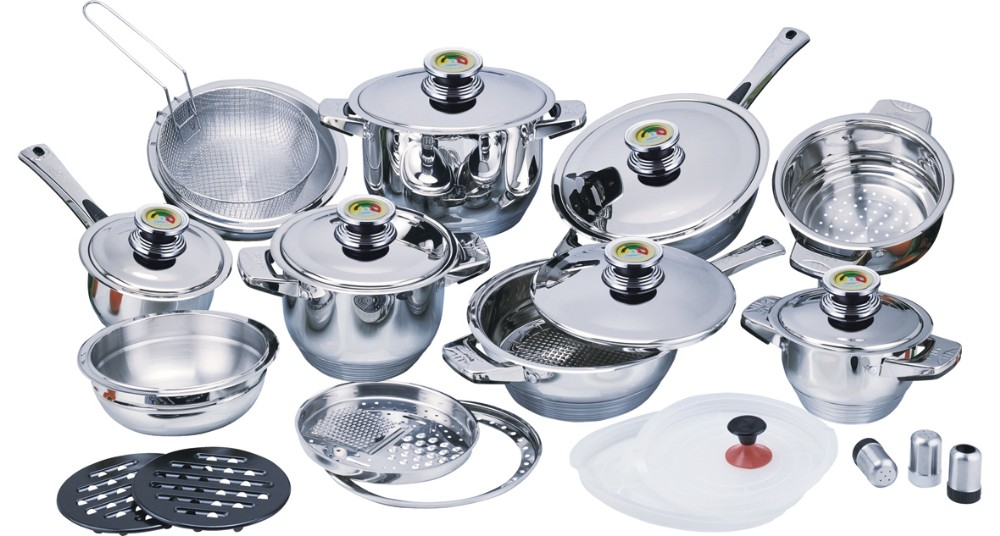 Perfect China Supplier High Quality Kitchen Wares Stainless Steel Palm Restaurant  Cookware For Kitchen Utensils