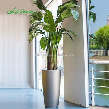Large Plastic Flower Pots Wholesale Home Decor Indoor Gardening Planter Leizisure Garden Furniture Outdoor
