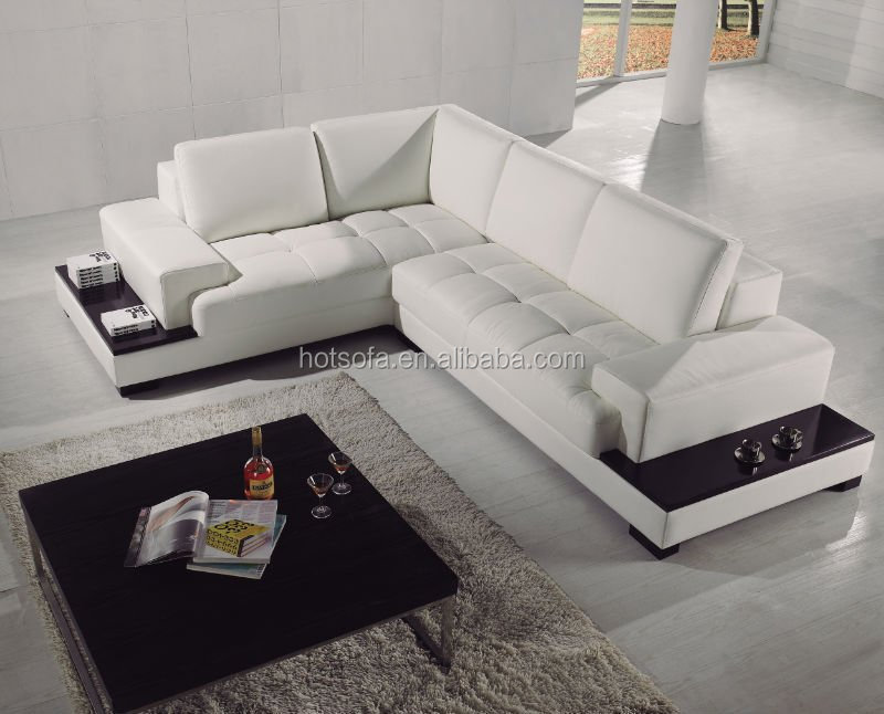 Low Price High Quality Red L Shaped Sectional Corner Sofa For Sale