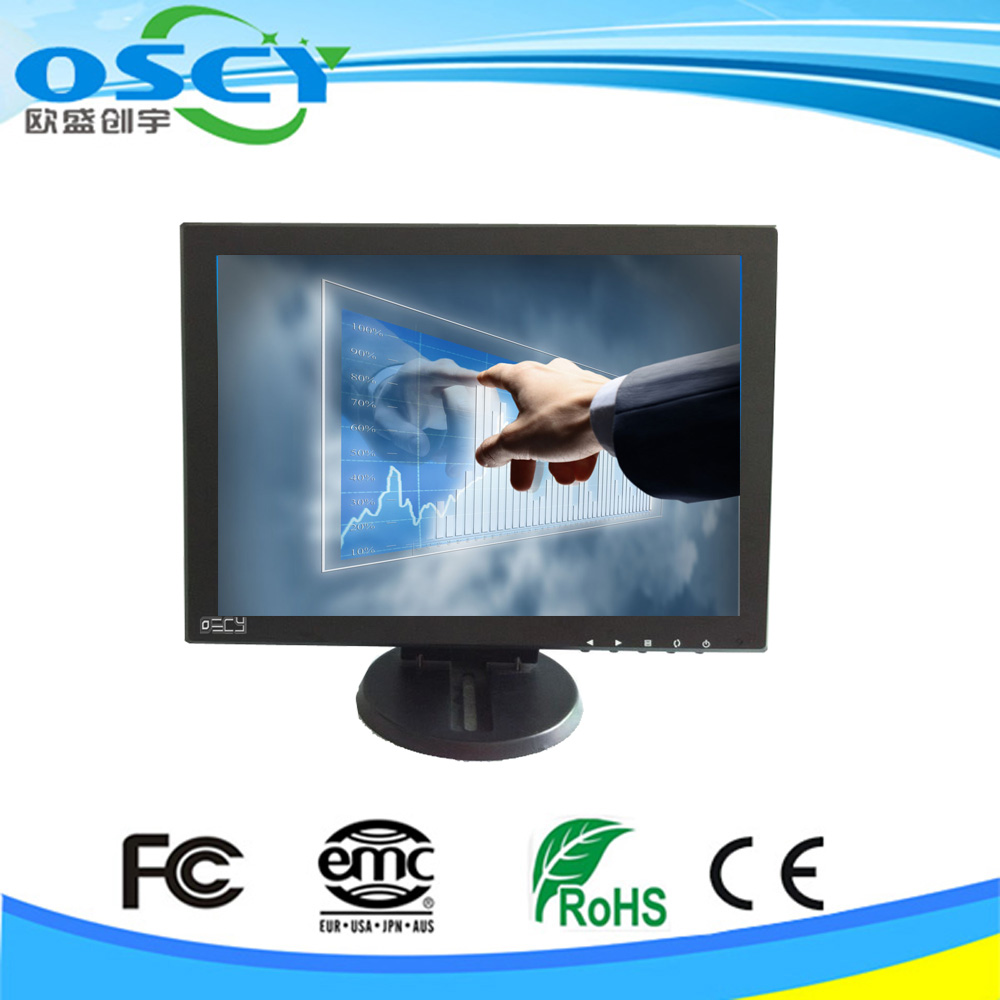 pc monitor 12 inch touch screen lcd monitor cga ega vga open frame lcd monitor