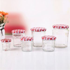 Fancy design Golden supplier Glass Jam Jars