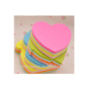High quality adhesive shapeful and colorful sticky note paper