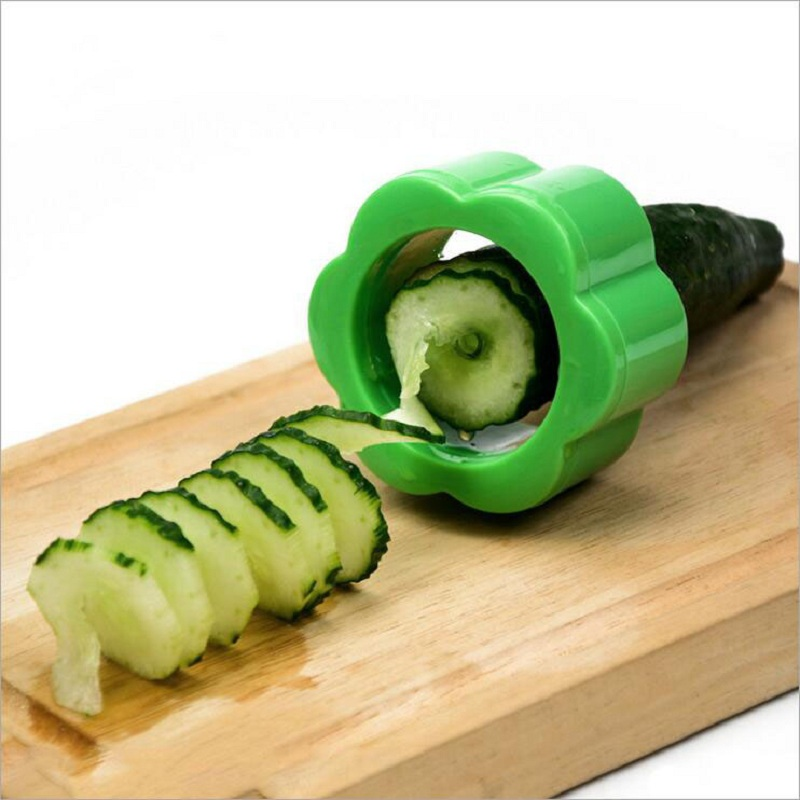 Mini Sharpener Shaped Vegetable Slicer Spiral Manaul carrot slicer Beauty Mask Cucumber Slicer