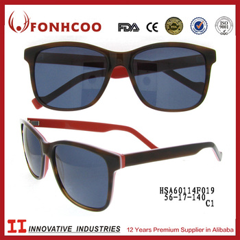 Fonhcoo china alibaba italy design fcc certificate custom stickers logo unisex sunglasses