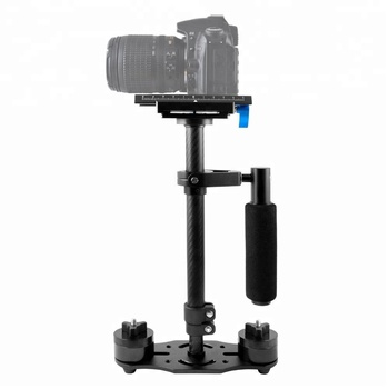 "Carbon Fiber Handheld Camera Stabilizer 15.7"" 40cm Pro S40 Adjustable Video Camera Steadycam steady"