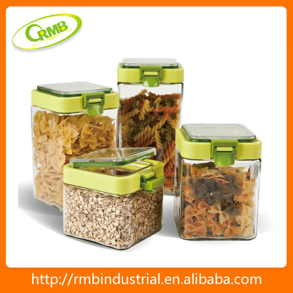Plastic Dry Food Box Storage