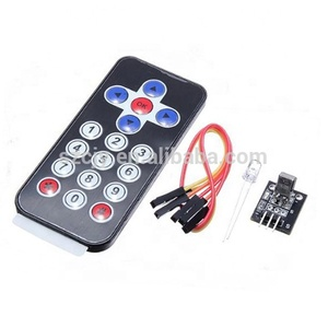 IR Infrared Wireless Remote Control Transmitter Receiver Kits for Arduinos AVR PIC 8M