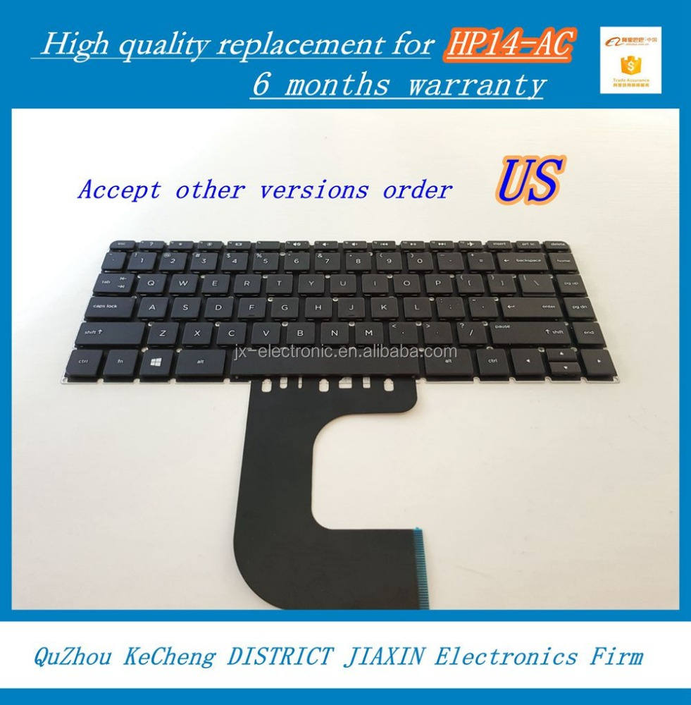hot sale quality chinese products laptop replacement keyboard for HP14-AC HP 14AC