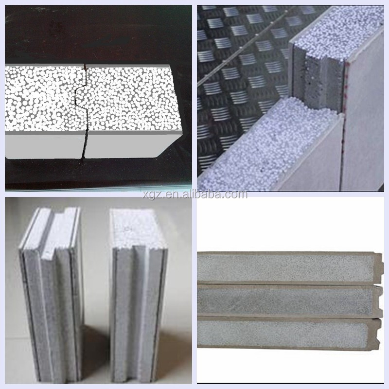 Cement foam sandwich wall panel
