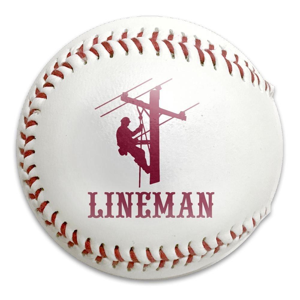 Lineman Electrician Power Practice Safety Softballs