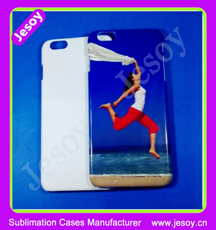 JESOY High Quality 3D Sublimation Cases Blank Cell Phone Case for iPhone 4s 5 6 7