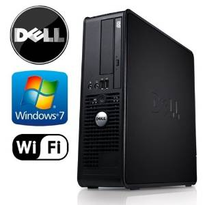 Business Computer! Dell Optiplex 780 SFF Desktop - Intel Core 2 Duo 3.0GHz, 4GB DDR3 RAM, New 1TB HDD, Windows 7 Pro 32-Bit, WiFi, DVD-ROM (Prepared by ReCircuit)