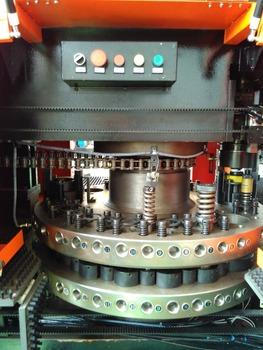 high speed cnc servo motor turret punching machine rotary station punch hole