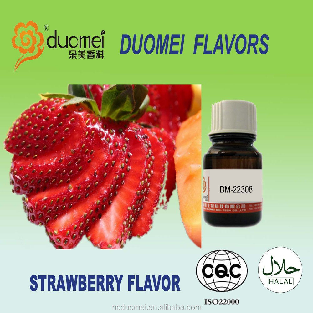 Sweet strawberry flavor food grade flavor fruit flavor concentrate
