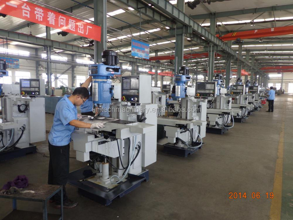 XK7130A China 3-axis CNC vertical milling machine