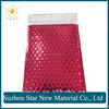 Red aluminium foil bubble bag