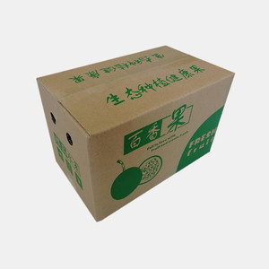 Wholesales high quality export corrugated packing empty fresh fruit carton box for transport