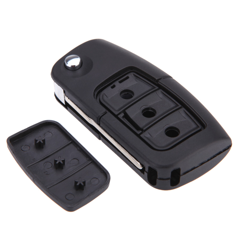 Get Quotations  C B High Quality  Button Flip Folding Remote Car Flip Key Shell Case Fob Key Cover Protective
