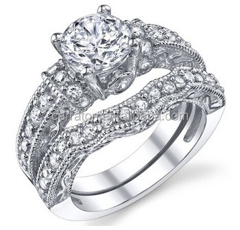 2017 New Hot Wedding Ring Sets Lady Jewellery