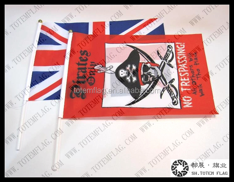 Hot Sale High Quality Flag Stick,Hand Waving Flag