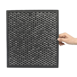 2018 new designed heat resistant activated carbon filter for home air purification