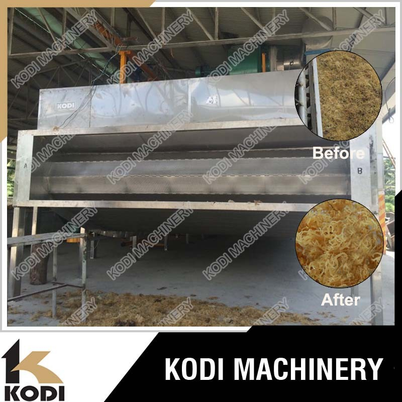 KODI Continous Seaweed Mesh Conveyor Belt Dryer/Drying Machine