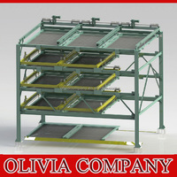 Mechanical Garage Car Packing System-5 Floors /Cantilever Puzzle parking System