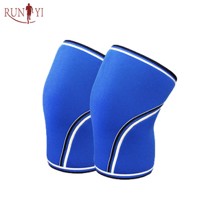 Best Customized Neoprene 7mm Knee Sleeve , Compression Knee Support for Weightlifting