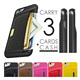 C&T Luxury Portable Wallet PU Leather Credit Card Holder Shockproof TPU Back Case Cover For iPhone 6 6S Plus