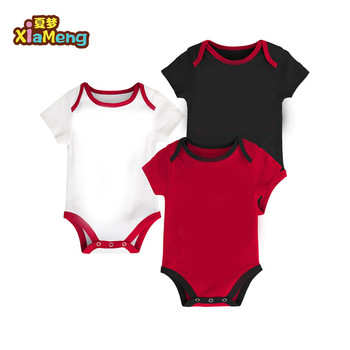 Infant Boy Onesie Sports Multi-Color Short Sleeve 6-9 Months baby creeper