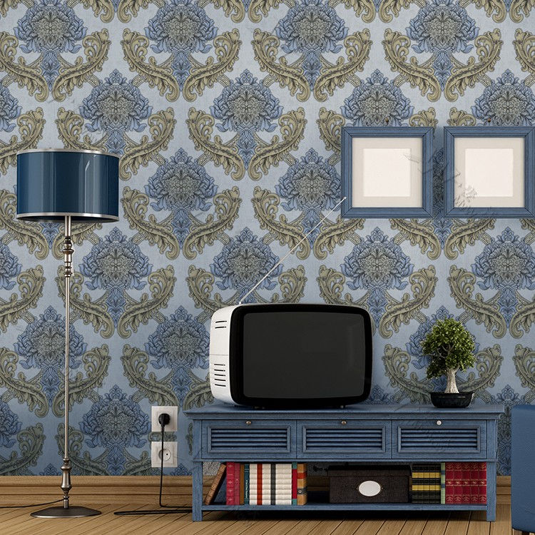 Best Price Wallpaper Rolls Deep Color Striped Classic Wall Papers for TV  Background