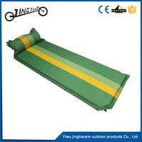 Outdoor camping hiking durable aero self inflating small size inflatable bed mattress