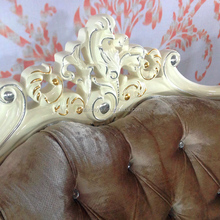 Home furniture manufacturers in Guangzhou , French Baroque rococo sofa set