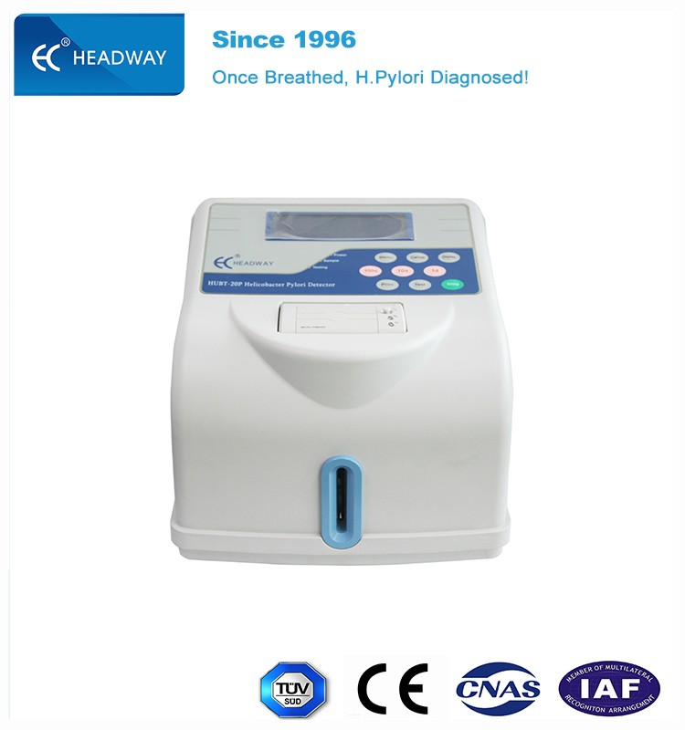 Laboratory Non-invasive Equipment UBT for H. Pylori Bacteria Detection