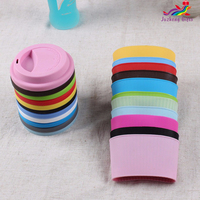 Promotion Gifts Custom Coffee Silicone Rubber Cup Sleeve, coffee cup sleeve