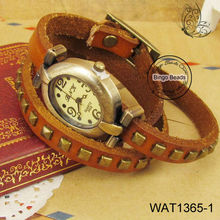 Ladies Fashion Watch Leather Belt