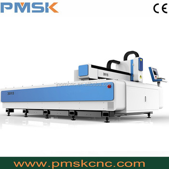 1500*3000 fiber metal laser cutter / stainless steel laser cutting machine 500W 1000W 3000W