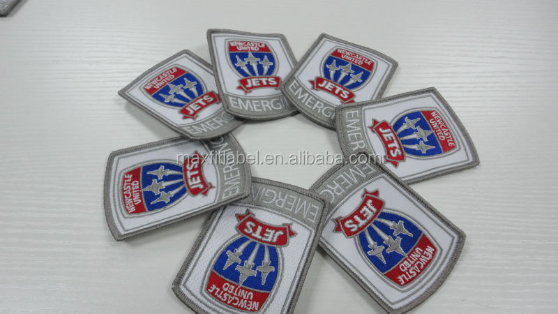 Hot New Products 3D Wholesale Cheap Fashion Woven Embroidered Patches And Badges/Custom Embroidery Patch