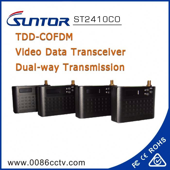 Small size 2.4 GHz wireless rs485 data video transmitter and receivers