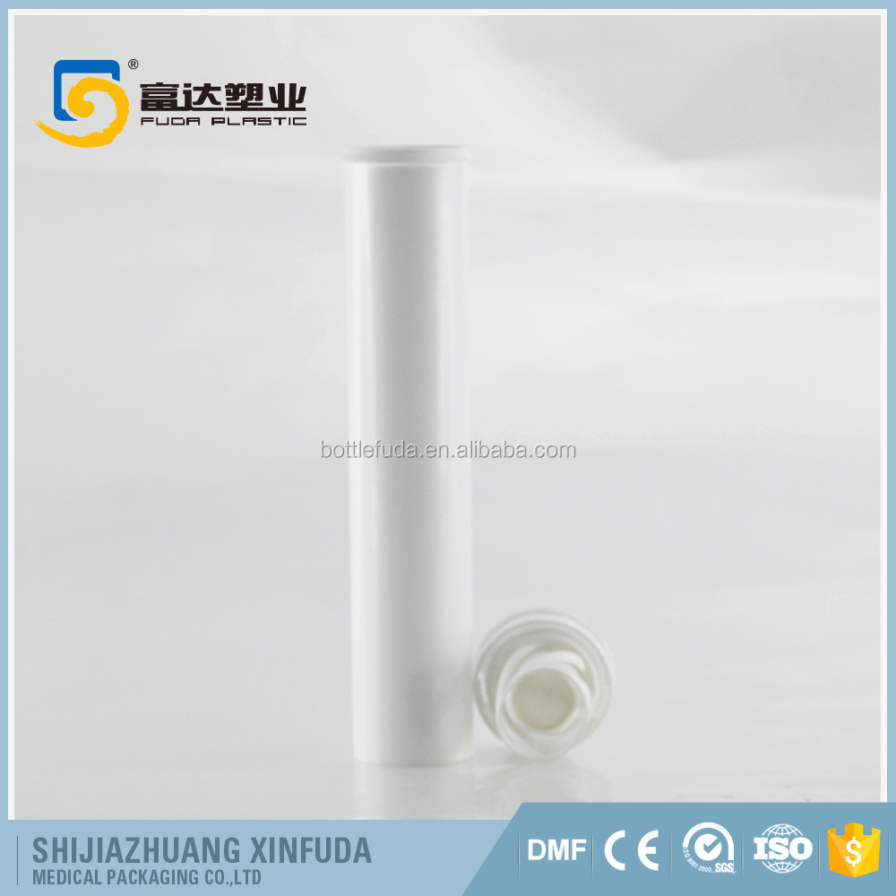 HDPE plastic effervescent tablet containers plastic screw cap