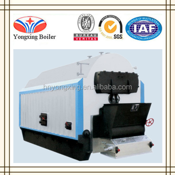 New Condition and Horizontal Type 10 Ton Coal Fired Steam Boiler