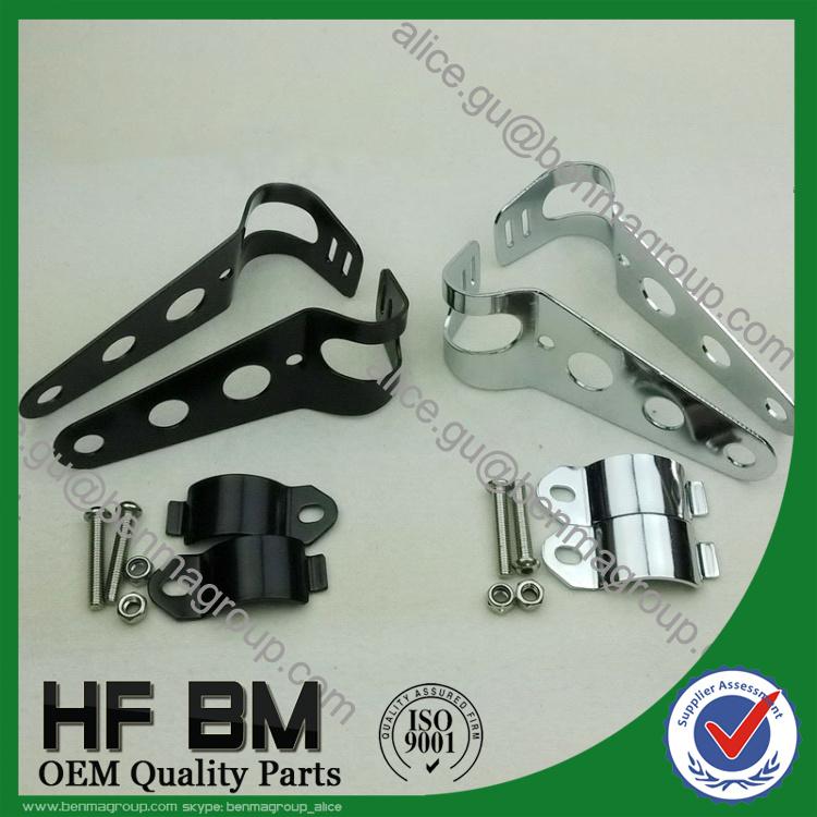 hot sell universal motorcycle headlight cb400 headlight bracket