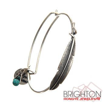 Anti Silver Leaf Charm Friendship Bracelets Bt6 8140 2150