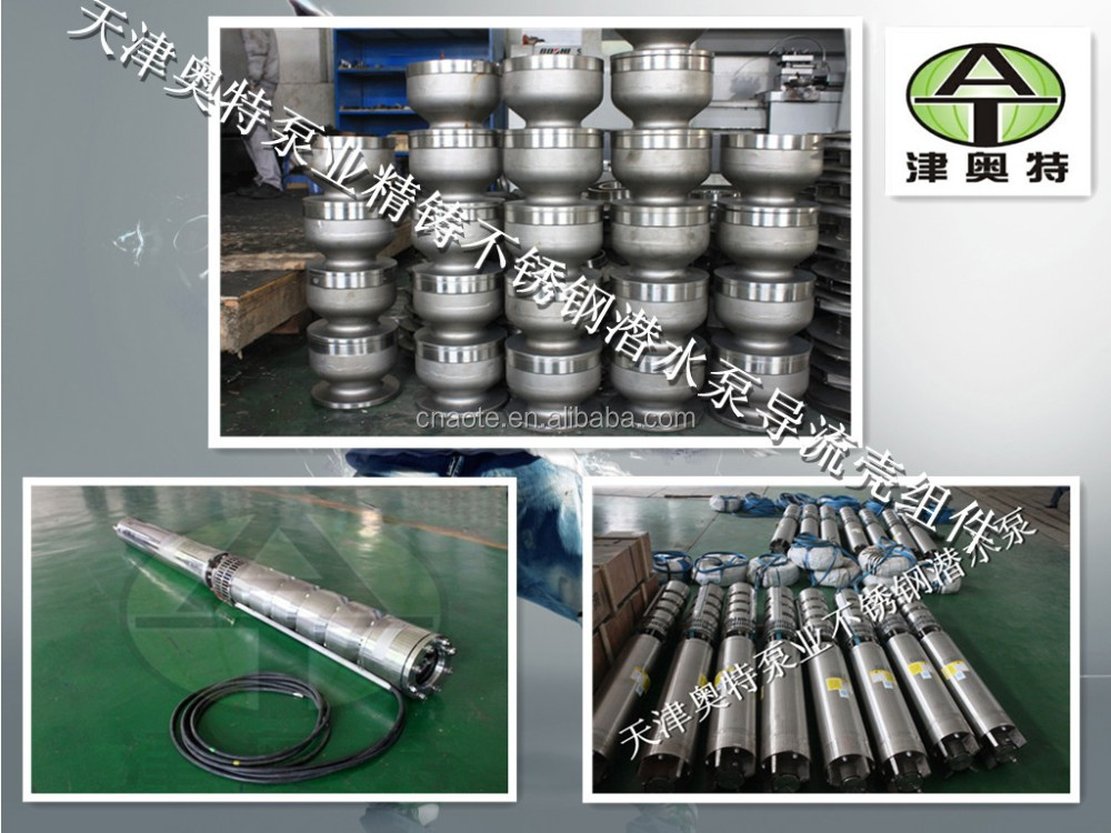 Deep Well AC Electric Submersible Solar Water Pumps/ Deep Well Pump/ submersible water pump for agricultural